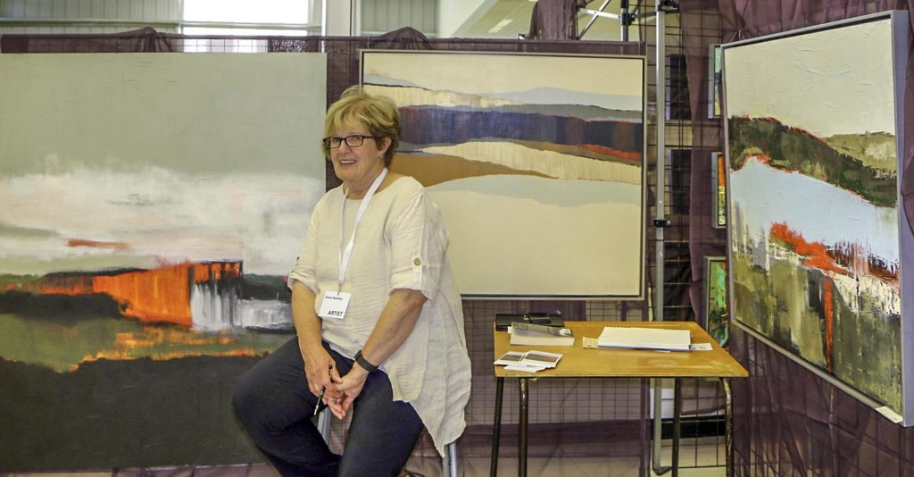 Northern Art Show in Apsley Ont August 2016