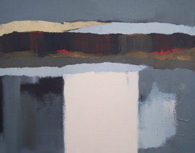 """Rhythm of Dusk 24"""" x 30"""" Acrylic on Canvas"""