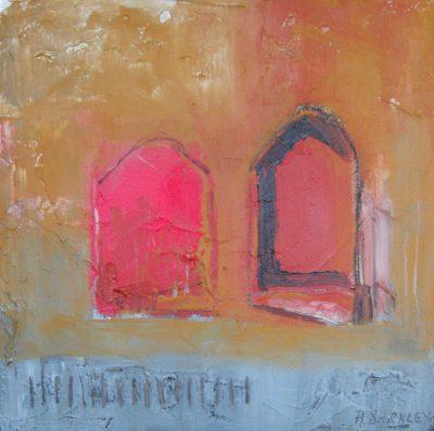 """Hot Sun 12"""" x 12"""" Acrylicon Canvas"""