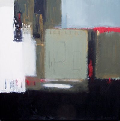"Direction 9 30"" x 30"" Acrylic on Canvas"