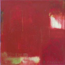 "Face 3 Reprise 16"" x 16"" Acrylic on Canvas"