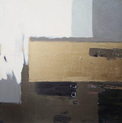 """Shape 14 36"""" x 36"""" Acrylic on Canvas"""