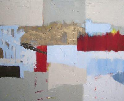 """Evensong 48"""" x 60"""" Acrylic on Canvas"""