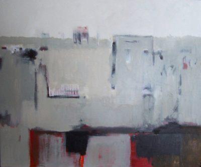 "Horizon 2 40"" x 48"" Acrylic on Canvas"
