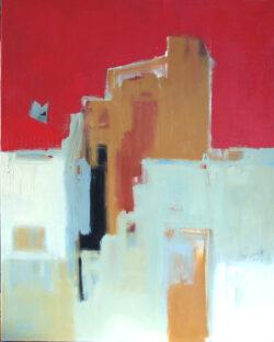 """Amherst 3B 40"""" x 32"""" Acrylic on Canvas"""